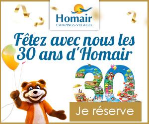 30 ANS D'HOMAIR VACANCES